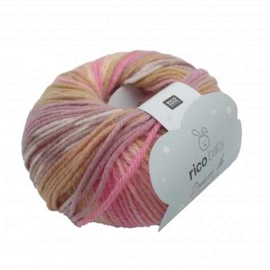Rico Baby Dream DK 012 Pink-Beige