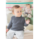 Sirdar Snuggly DK 1310 Sweaters 0-7 years Downloadable Knitting Pattern