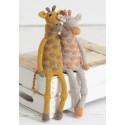 Giraffes Sue Jobson - Sirdar Knitalong Part3 - Free Knitting Pattern