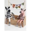 Zebras Sue Jobson - Sirdar Knitalong Part4 - Free Knitting Pattern