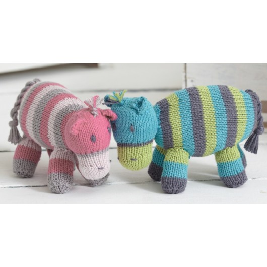 Hippos Sue Jobson - Sirdar Knitalong Part5 - Free Knitting Pattern
