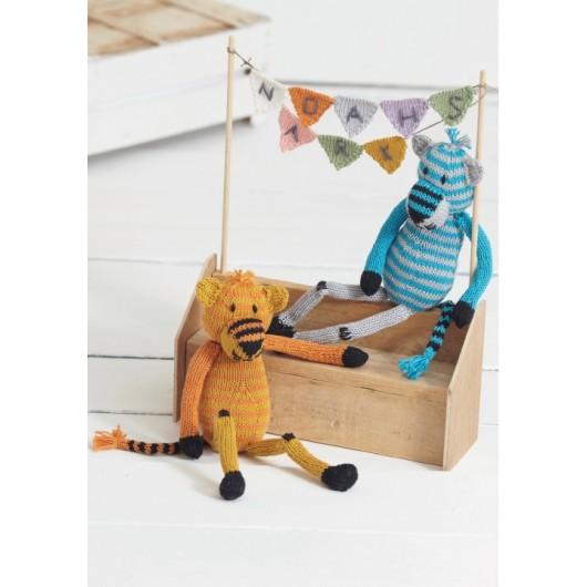 Tigers by Sue Jobson - Sirdar Knitalong Part 6 - Free Knitting Pattern