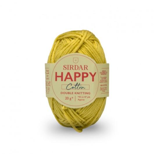 Sirdar Happy 100% Cotton DK 771 Buttercup