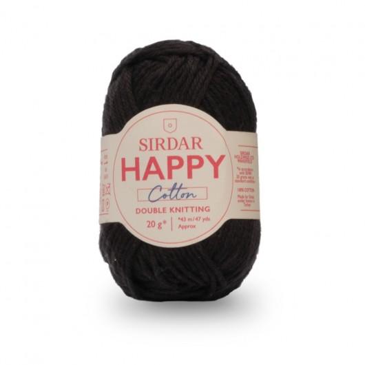 Sirdar Happy 100% Cotton DK 775 Liquorice