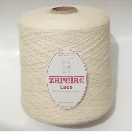Zarela Lace - 100% Luxurious Baby Alpaca Cone