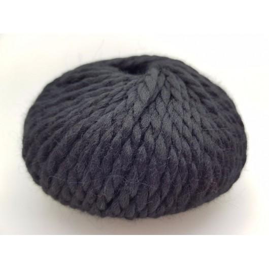 Zarela Chunky Super Soft 100% Luxurious Baby Alpaca Yarn - Black