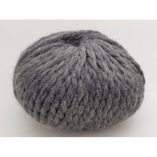 Zarela Chunky Super Soft 100% Luxurious Baby Alpaca Yarn - Dark Grey