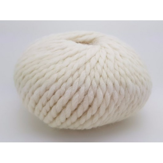 Zarela Chunky Super Soft 100% Luxurious Baby Alpaca Yarn - Fawn Cream