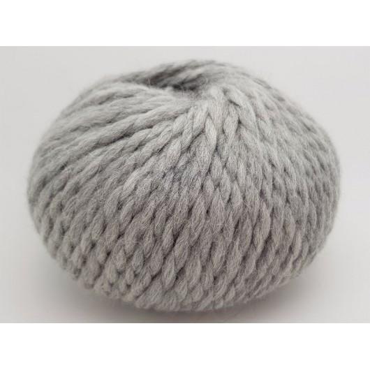 Zarela Chunky Super Soft 100% Luxurious Baby Alpaca Yarn - Silver Grey